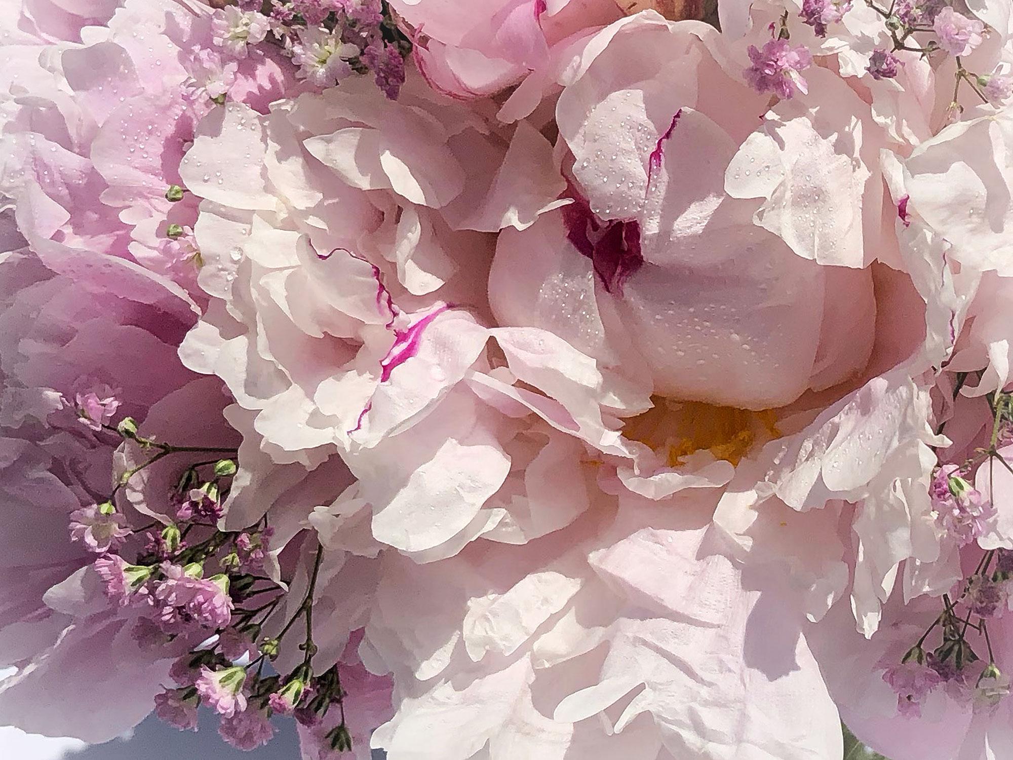 Hochzeit-Dekoration Blumenstrauss